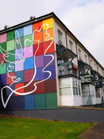 Murals in Derry ierland