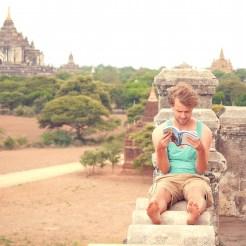 Myanmar uitzicht bagan