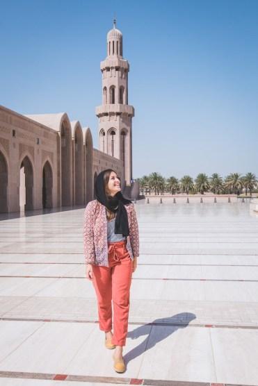 Oman Muscat Grand Mosque plein