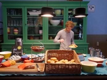 Ontbijt Copenhagen Downtown Hostel