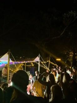 Oud en Nieuw Sydney NYE shark island feestje