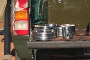 PIlanesberg Zuid Afrika auto ontbijt