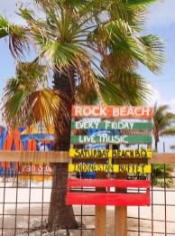 Rock beach curacao pietermaai