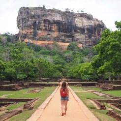 Sigiriya sri lanka lion's rock