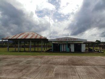 Siguijor Airport vliegen backpacken filipijnen