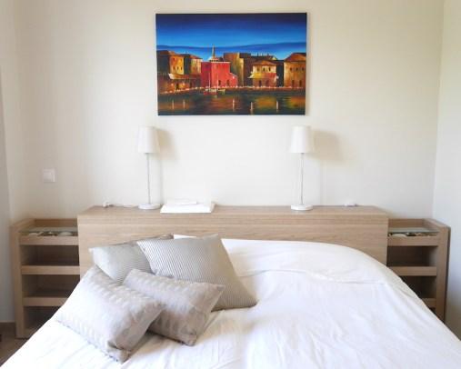 Slaapkamer Belvilla Kreta