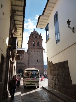 Smalle steegjes Cusco Peru