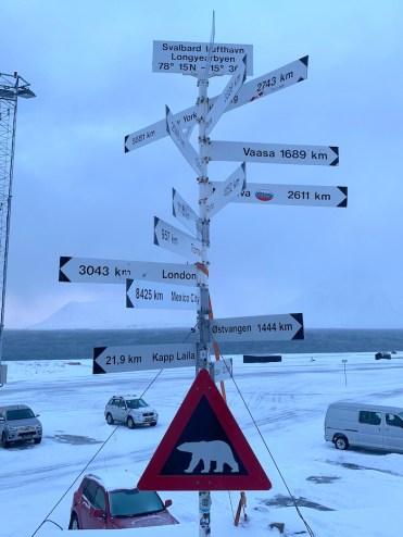 Spitsbergen bewegwijzering centrum