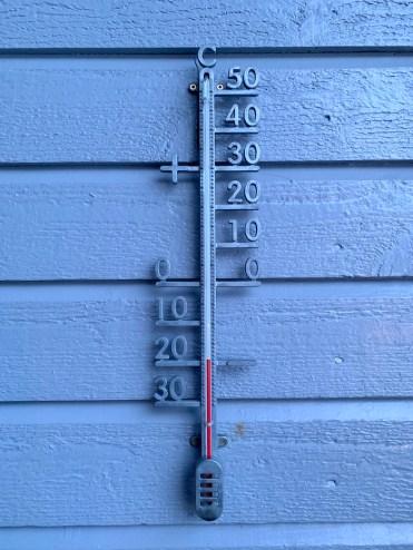 Spitsbergen temperatuur onder nul