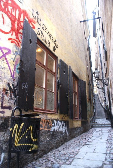 Stockholm kleinste straatje