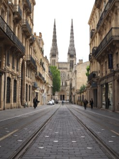 Straten in Bordeaux