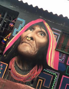 Streetart Bogota colombia
