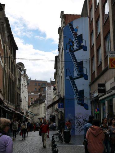 Streetart Brussel