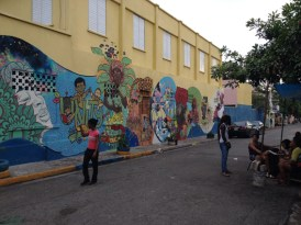 Streetart downtown jamaica