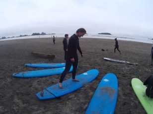 Surfen in Tofino West Canada