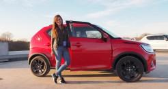Suzuki Ignis Testen in Rome Italie