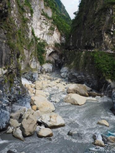 Taroko Gorge Marmer uitzichtpunt