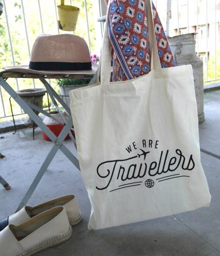Tasje we are travellers