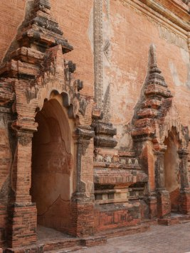 Tempel detail bagan