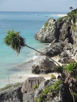 Tulum in Mexico kustlijn