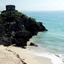Tulum maya tempels