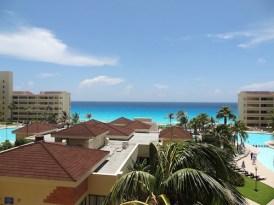 Uitzicht hotel Cancun