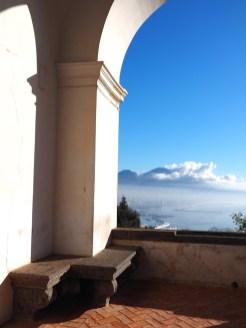 Napels uitzicht vanaf Certosa di San Martino