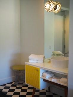 Vagabond motel badkamer
