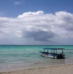 Varen met een boot met glazen onderkant jamaica negril