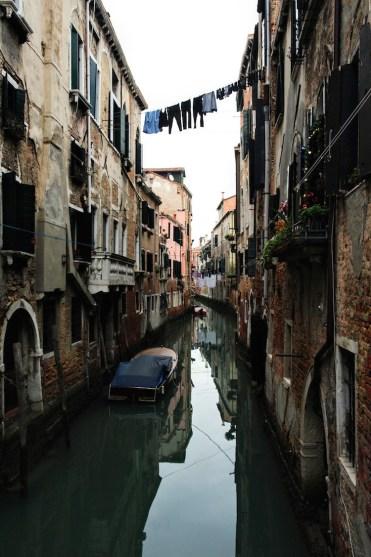 Venetie Kanalen 'buitenwijk' Venetie