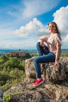 Volterra Panorama uitzicht