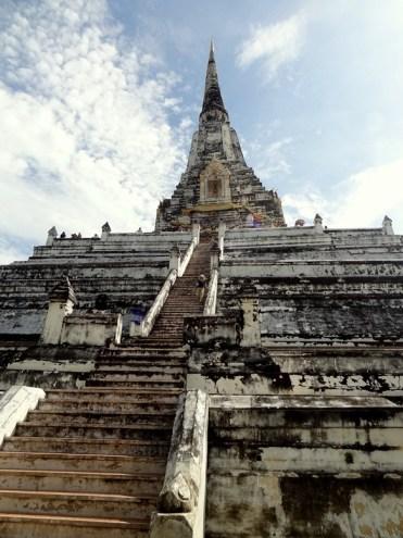 Ayutthaya Wat Phu Khao Thong