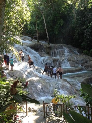 Waterfalls Dunns River Jamaica Sandra Smits