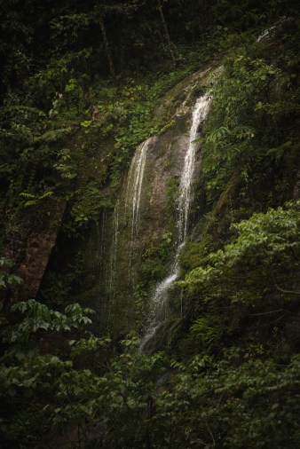 Waterval in Manu Jungle Peru