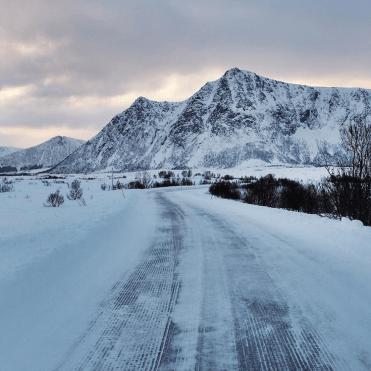 Wegen noord noorwegen