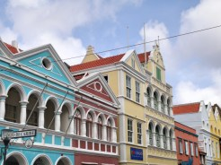Willemstad curacao wandeling stad