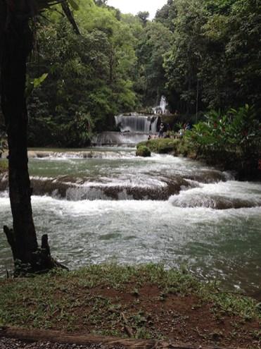 YS Falls Jamaica watervallen