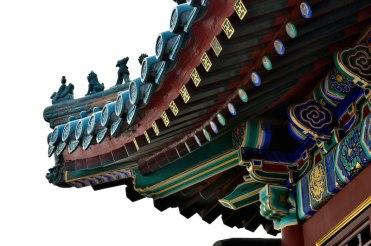 Zomerpaleis bij beijing toren detail
