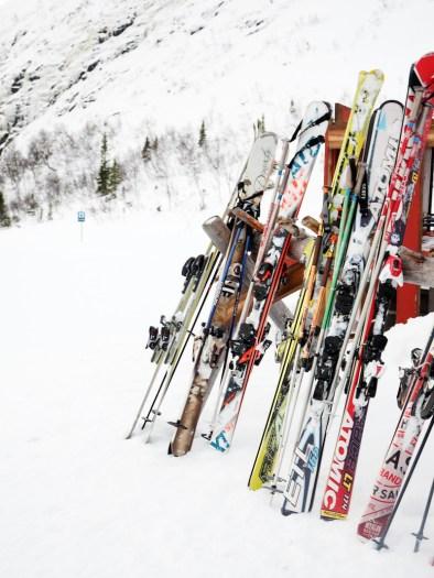 activiteit lapland skiën skis
