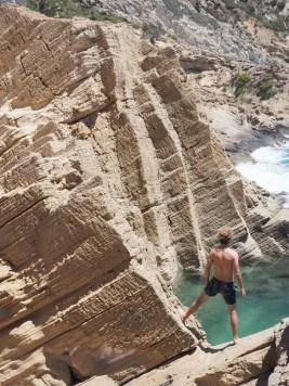 atlantis Ibiza strand natuurlijk zwembad