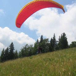 autrans paragliden camping frankrijk