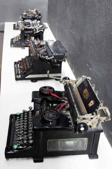 backstay hostel typewriters
