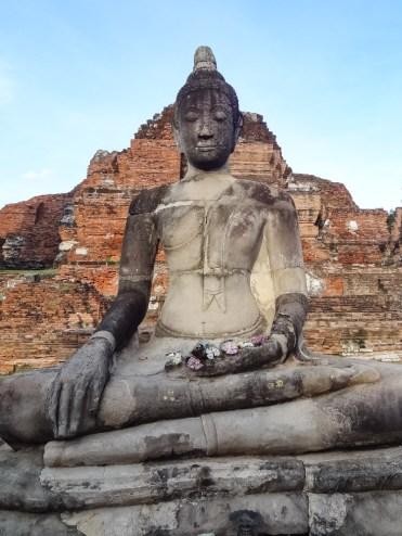beelden Ayutthaya thailand-2