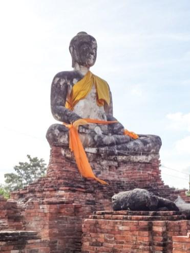 beelden Ayutthaya thailand