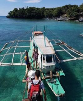 boot vervoer filipijnen backpack route