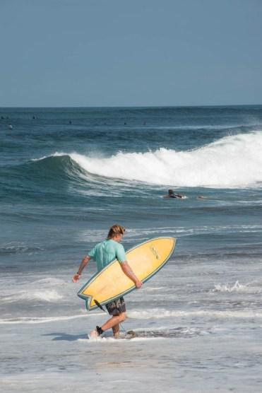 canggu beach surfers