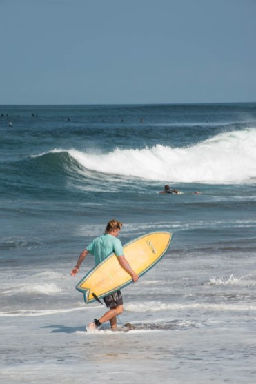 canggu beach surfers