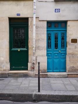 deuren in Parijs