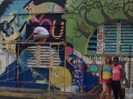 downtown streetart kingston jamaica