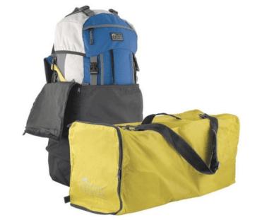 flightbag voor backpacken